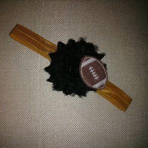 Other - 3 for $6 Girls Headband Football